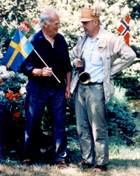 Preben Torp Jacobsen and Carl Anderberg